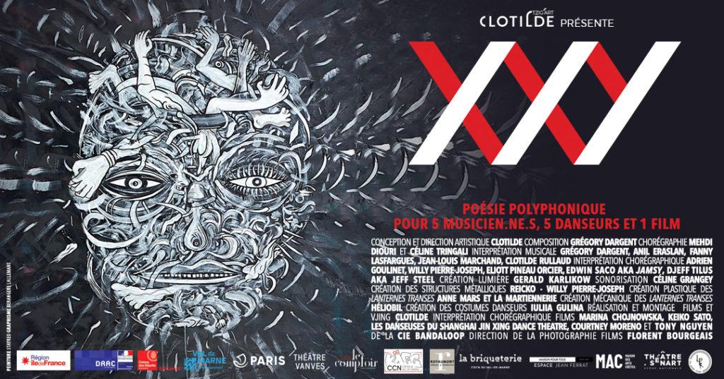 Bandeau XXY Pièce polyphonique pour 5 musicien.ne.s, 5 danseurs et 1 film